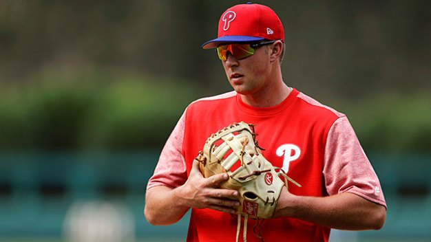 Hoskins Blames Himself for Letting Umpire West Ring Him Up With Game on the Line