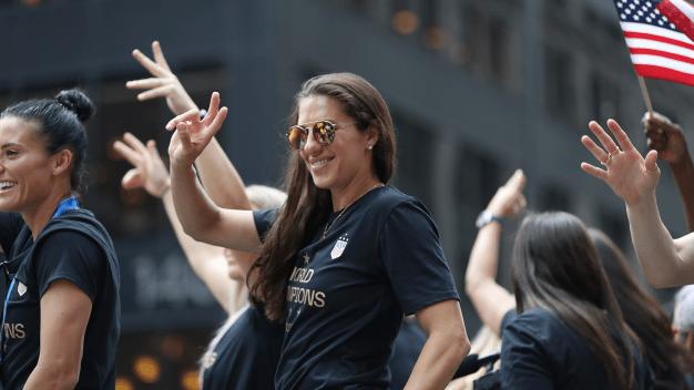 Carli Lloyd Has Already 'Gotten Some Inquiries' About Playing Football