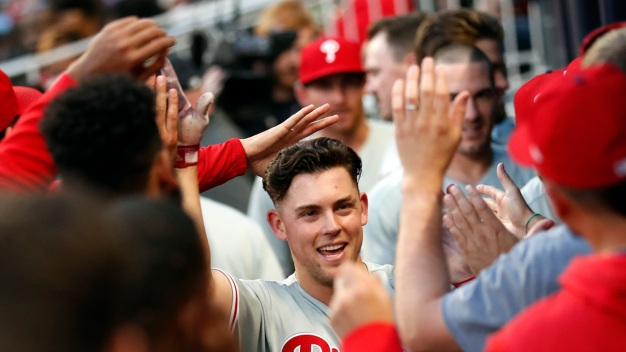 Phillies 6, Braves 5: Scott Kingery Keys Uplifting Win After 2 Injuries and Short Start From Aaron Nola