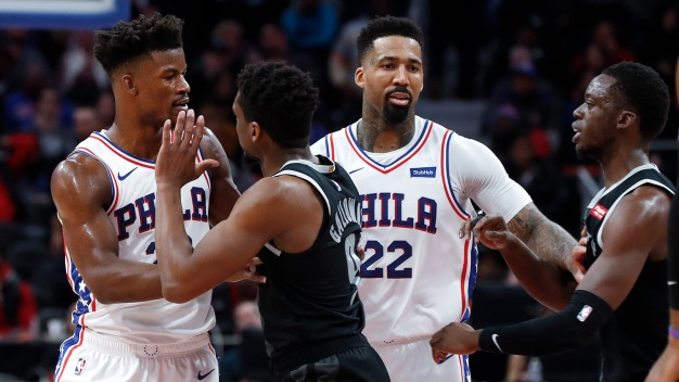 Sixers Need Strong Performances From Mike Muscala, Wilson Chandler to Earn 'best Win of the Year'