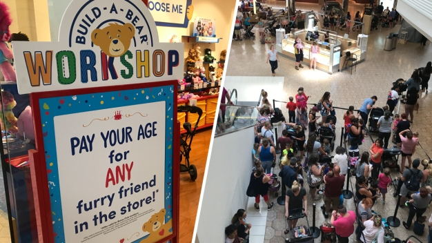 'Extreme Crowds' Force Build-a-Bear to Close Lines on 'Pay Your Age Day'