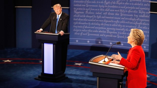 Sparks Fly as Presidential Candidates Faceoff