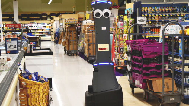 Googly-Eyed 'Marty' the Grocery Robot to Roam Your Market