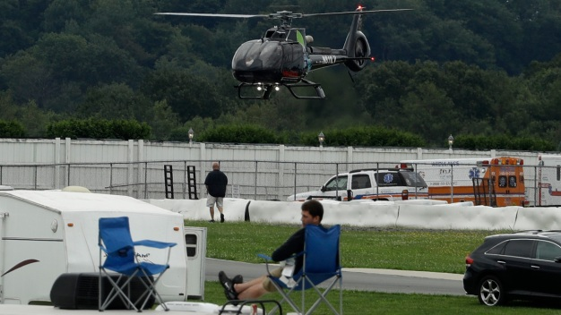 IndyCar Driver Injured in Scary Crash at Pocono Raceway