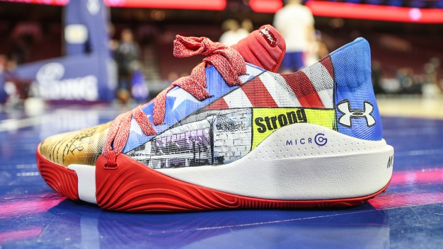 Embiid's NBA All-Star Game Shoes Designed by Philly Kids