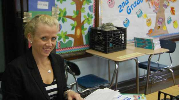 Brand-New Teacher Looks Forward to Monday