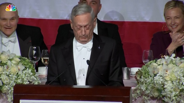 Mattis Responds to Trump With Bones Spurs Burn