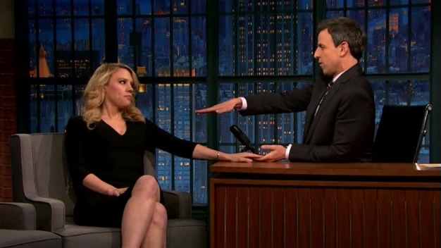 'Late Night': Kate McKinnon Talks Poop Log Holiday Tradition