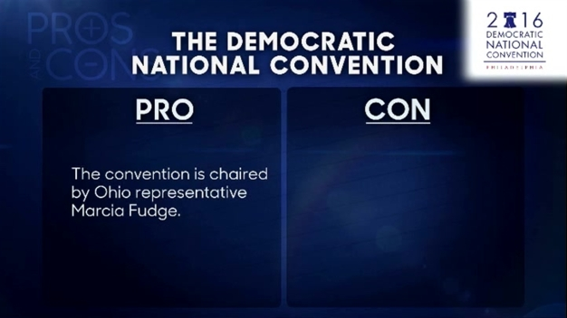 'Tonight' Pros and Cons: DNC