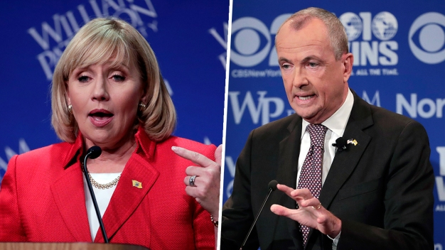 New Jersey Governor Candidates Clash Over Property Taxes
