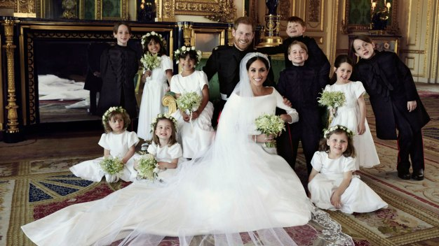Wedding Photog Reveals Secret to Getting Royal Kids in Line