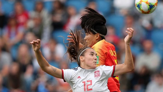 8492b8edf99 Women's World Cup: Spain and China Advance With Scoreless Draw