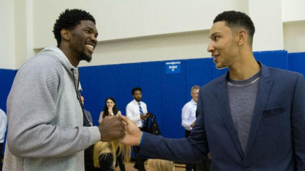 Sixers' Joel Embiid Named All-Star Starter
