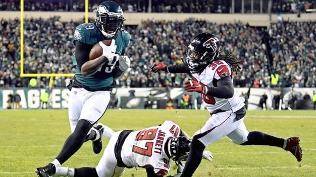Eagles Beat Falcons, Advance to NFC Championship
