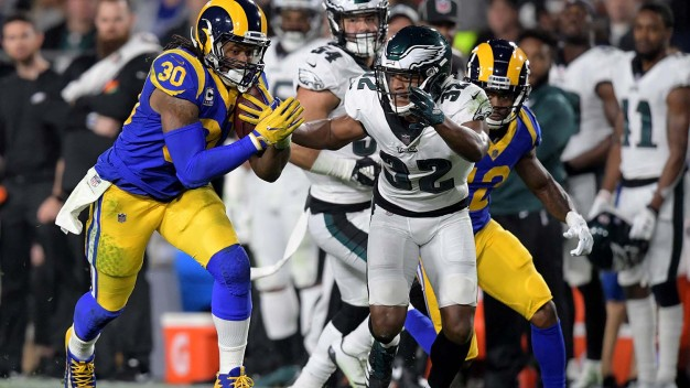 Todd Gurley's Night Vs. Eagles Might Be Over