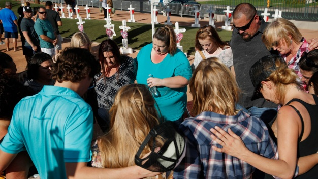 Vegas Shooting Memorial: 'Pain That Never Really Goes Away'