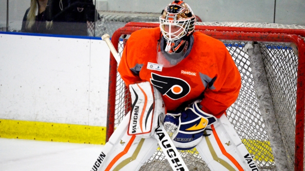 Anthony Stolarz, With a Lot to Prove, Among Flyers' Qualified RFAs