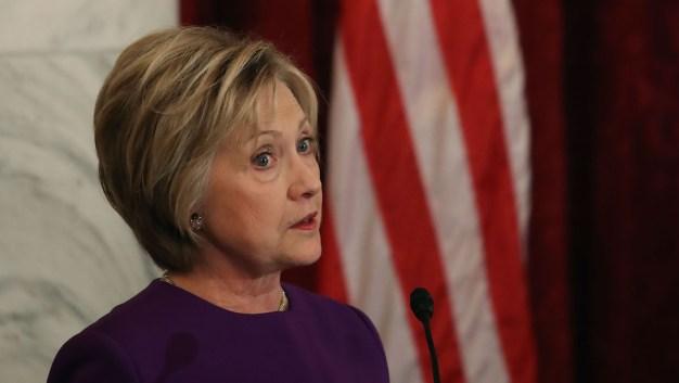 Hillary Clinton Warns Against 'Epidemic' of Fake News