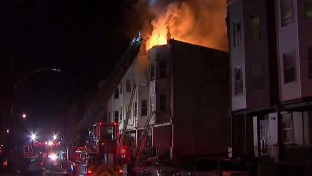 Fire Rips Through Philadelphia House on Thanksgiving