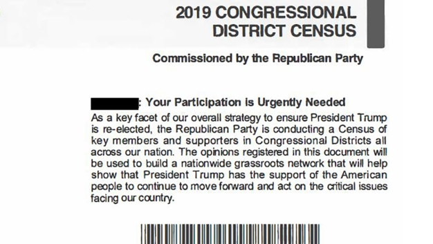 Civil Rights Groups Slam RNC for 'Fraudulent' Census Mailers