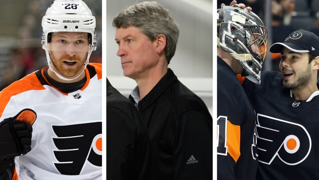 Flyers Weekly Observations: Claude Giroux's Position, Chuck Fletcher's Patience, More