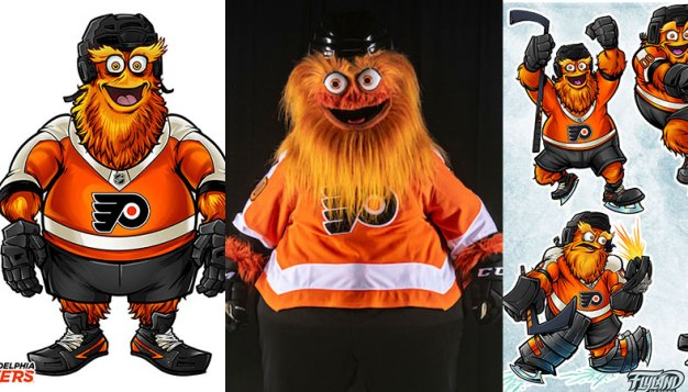 Meet One of the Minds Behind Gritty and Some of His First Drafts