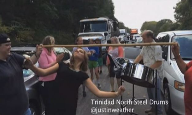 Limbo and Steel Drum Party Breaks Out on I-76