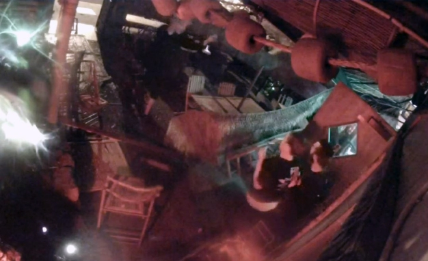 Customers 'Saved' by Tiki Statue When Tree Crashes Through Restaurant