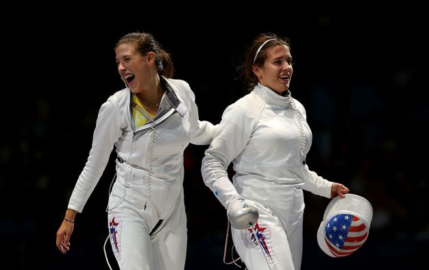 Olympic Fencing Sisters Look to Conquer Fencing, Sibling Rivalry in Rio