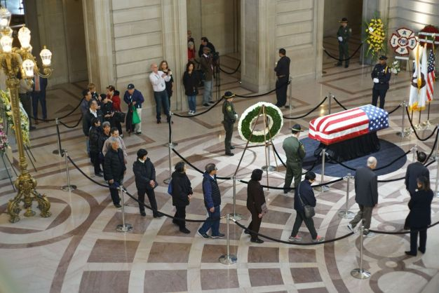 San Francisco Honors Late San Francisco Mayor Ed Lee