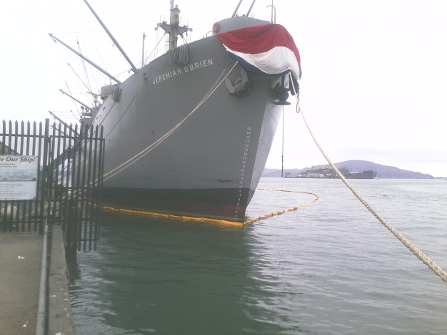 WWII-Era Ship Spills Oil Into SF Bay