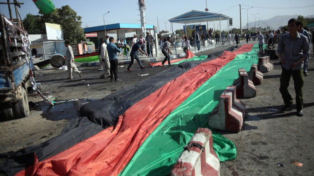 Blasts Kill More Than 60 at Kabul Protests