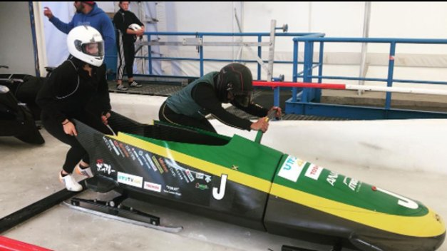 'Fire on Ice': Jamaican Women Aim for Olympic Bobsled Debut