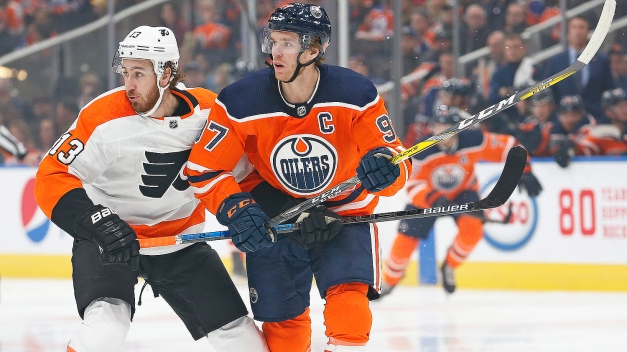 Connor McDavid Gives Flyers a Nightmare Finish to 0-2-1 Road Trip