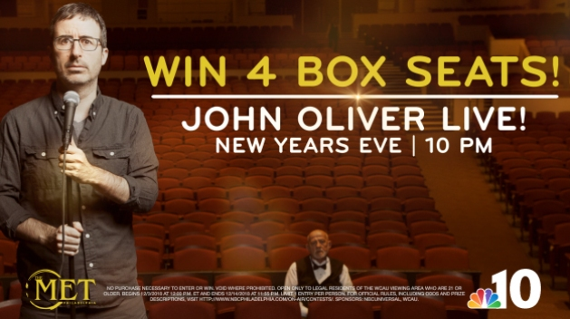 John Oliver Sweepstakes