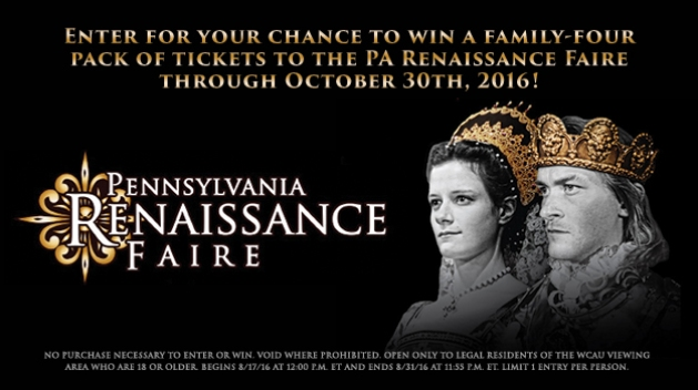 PA Renaissance Faire 2016 Giveaway
