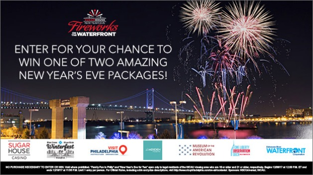 SugarHouse New Year's Eve Sweepstakes 2017