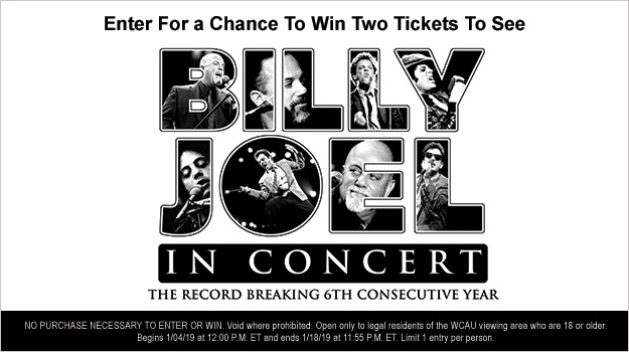 Billy Joel In Concert Sweepstakes