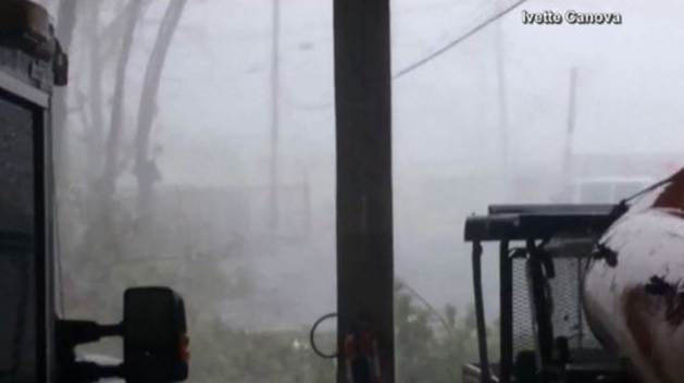 Hurricane Maria Tears Through Puerto Rico