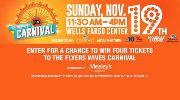 The Flyers Wives Carnival