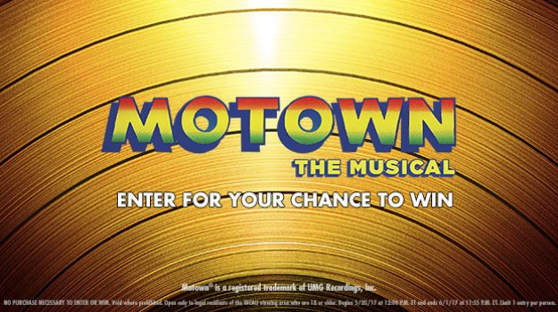 Motown the Musical 2017 Giveaway