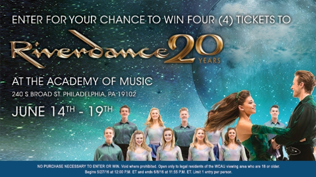 Riverdance 2016 Sweepstakes