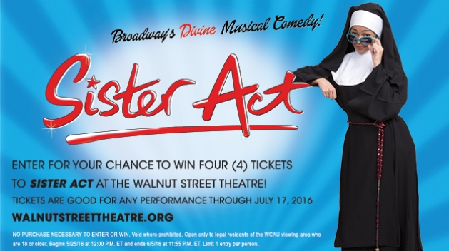 Sister Act 2016 Sweepstakes