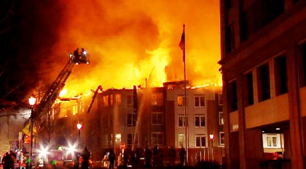 [DC]  Massive 3-Alarm Fire Guts Rockville Apartment Building
