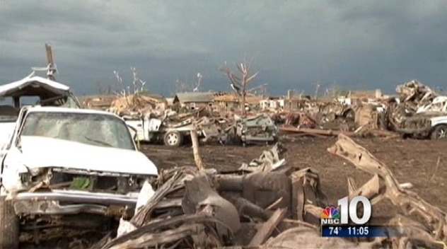 Feet on the Ground Essential in Tornado Cleanup
