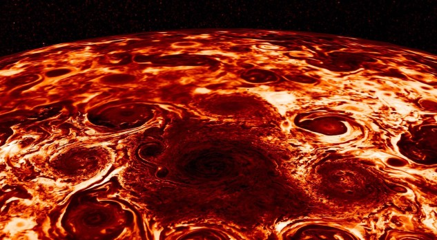 [NATL-LA GALLERY UPDATED 3/7] Photos: NASA's Juno Spacecraft Chases Jupiter's Giant Red Storm