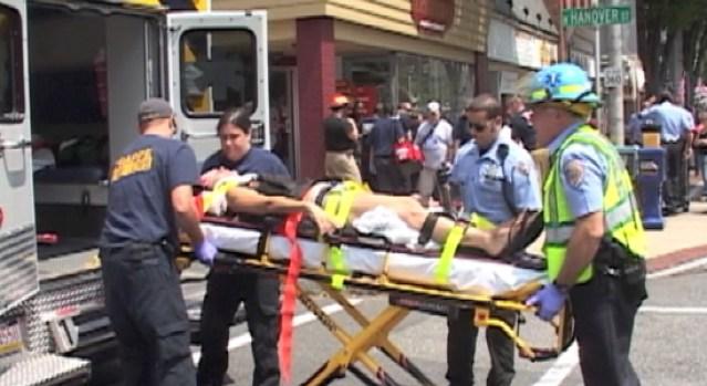 Car Plows Into Pedestrians in Pottstown, 3 Injured