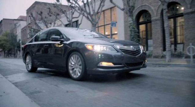 Acura RLX: Virtual Test Drive}