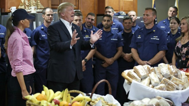 Trump Spends Holiday With Troops, Tells Them 'We're Winning'