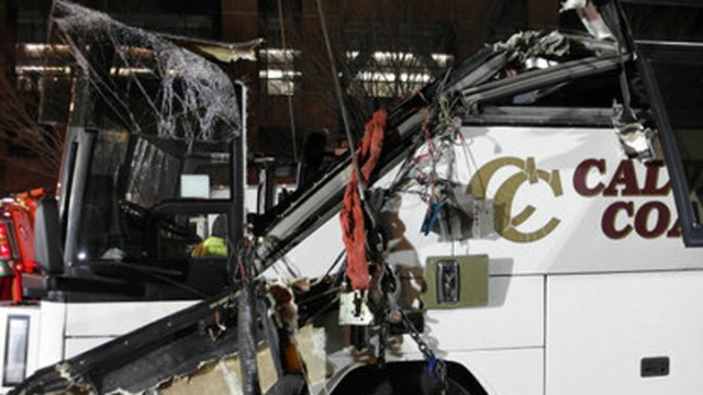 Pa. Bound Bus Accident in Boston